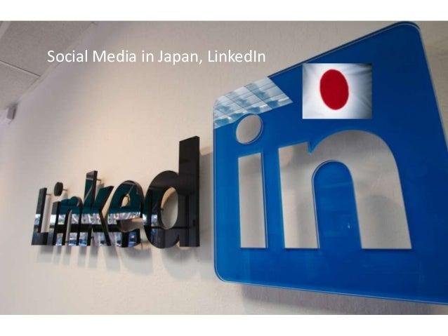 Social Media in Japan, LinkedIn