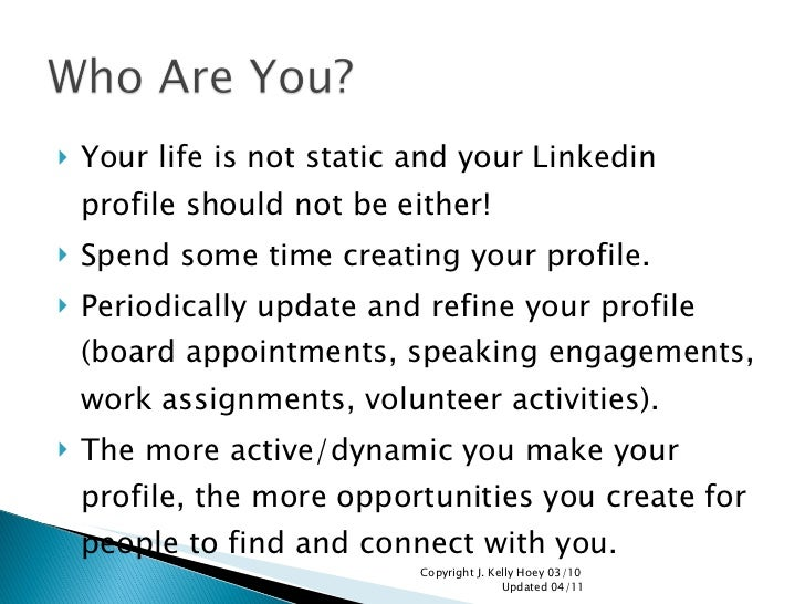 linkedin is not your resume