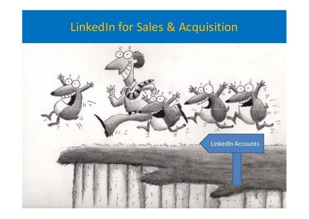LinkedIn for Sales & Acquisition LinkedIn Accounts