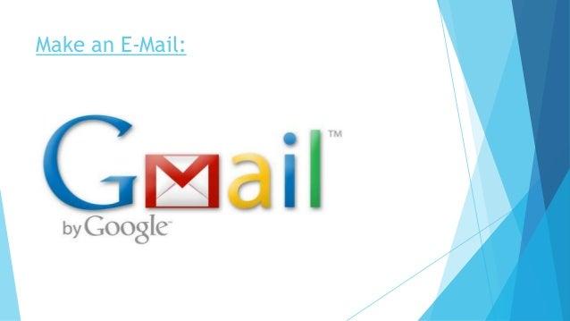 Make an E-Mail: