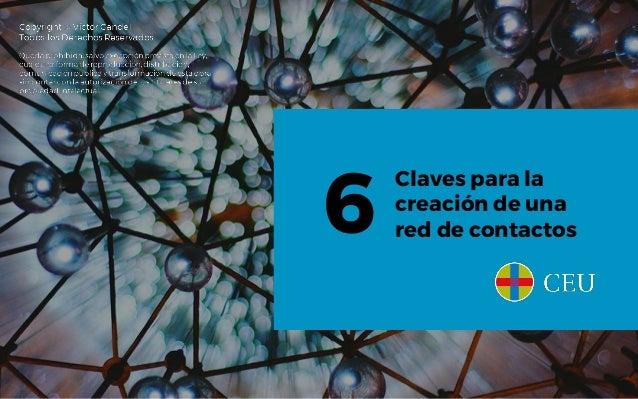 Claves para la creación de una red de contactos6