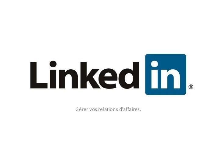 Linkedin 25 novembre CDEC