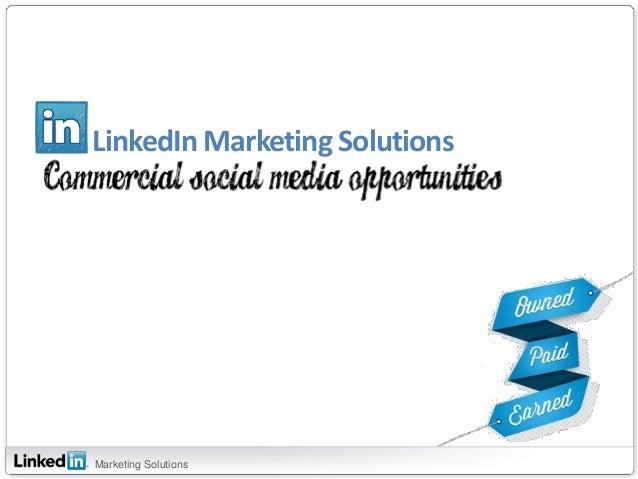 LinkedIn Marketing SolutionsMarketing Solutions
