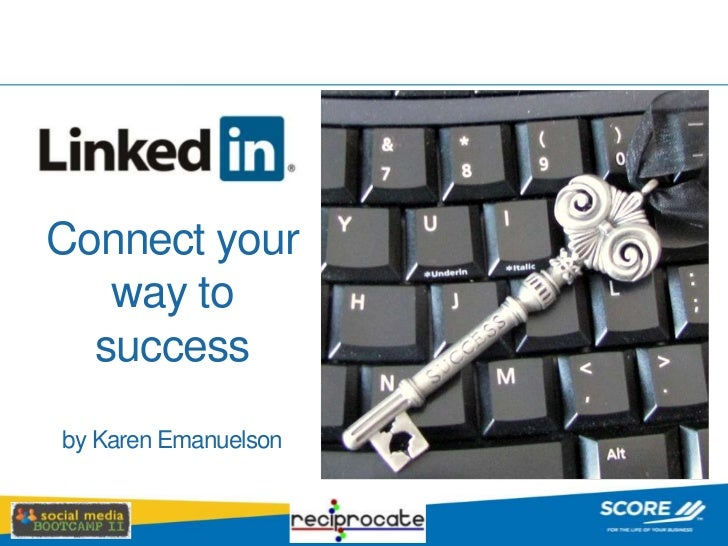 Connect your way to successby Karen Emanuelson<br />