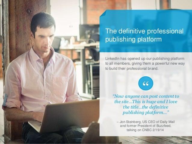 Linkedin Corporate Publishing Playbook Slide 2