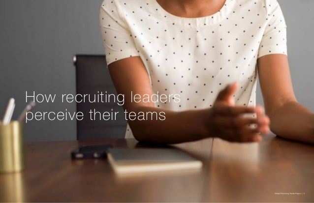 Global Recruiting Trends Report | 5 How recruiting leaders perceive their teams