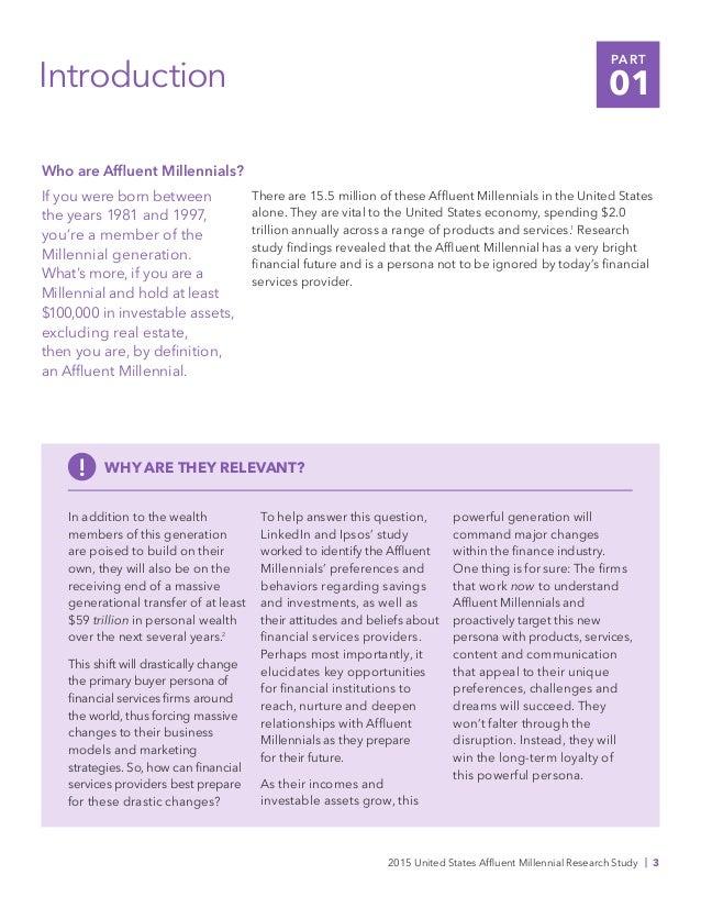Winning Affluent Millennials: A LinkedIn and Ipsos Study Slide 3