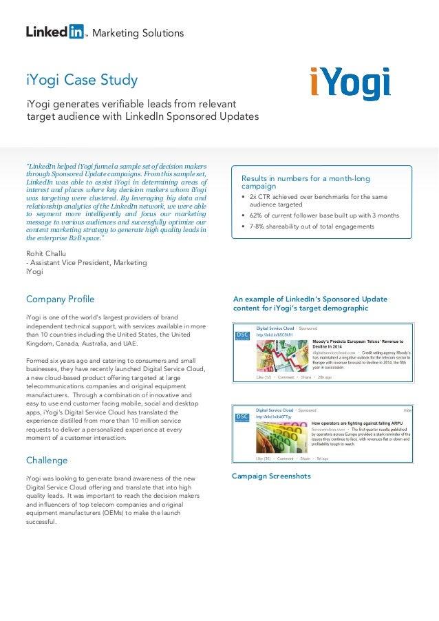 iyogi case study