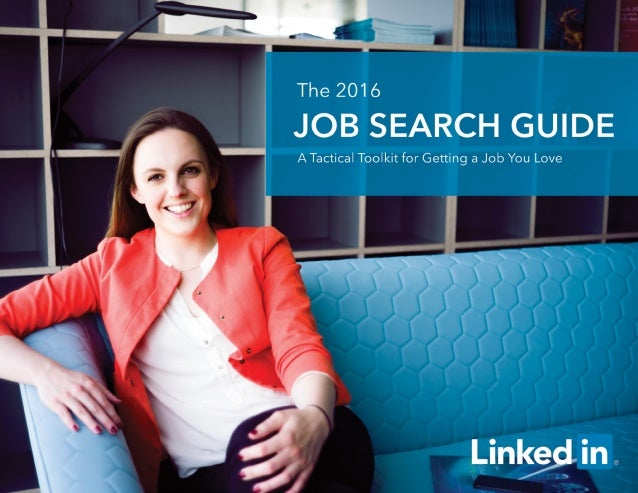 1 The 2016 Job Search Guide