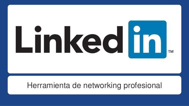 Herramienta de networking profesional