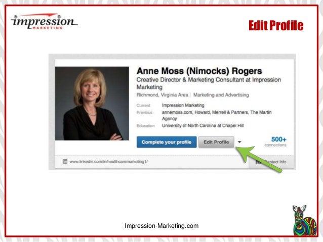 Impression-Marketing.com Edit Profile