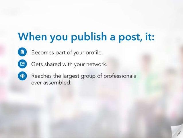 Best Practices for Publishing Posts on LinkedIn Slide 3