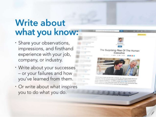 W-  1  Write about what you know:  A''''''%-—'''''': .'-'  ° Share your observations,   impressions,  and firsthand  Surpr...