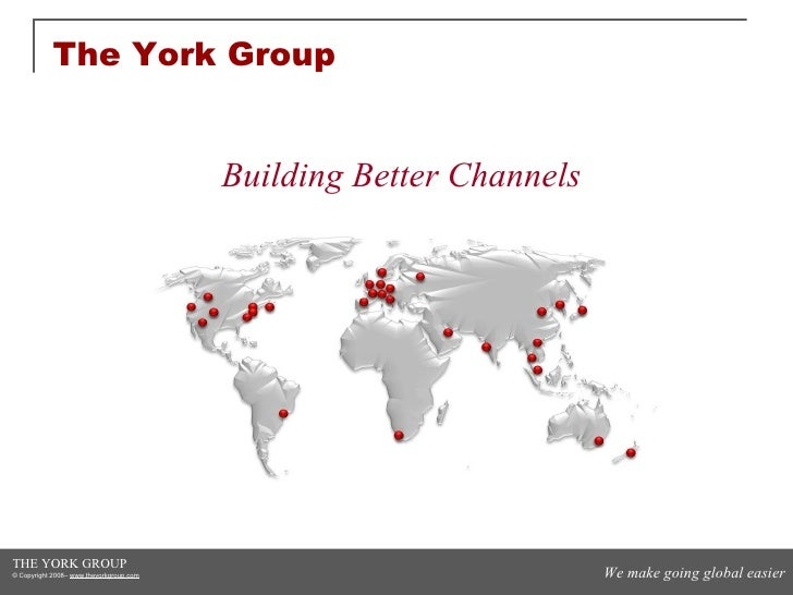 The York Group Building Better Channels