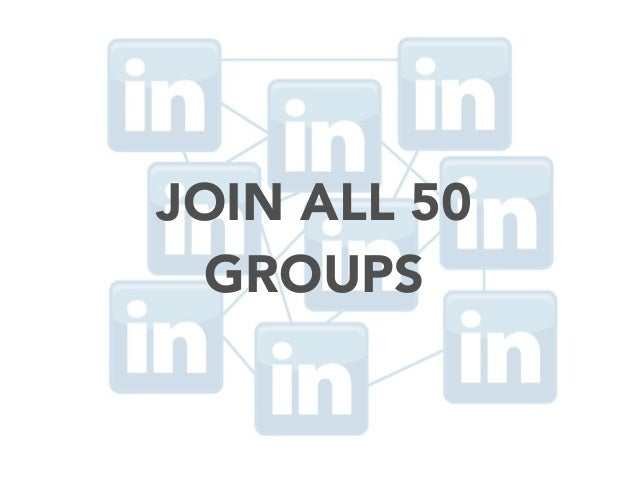 JOIN ALL 50 GROUPS