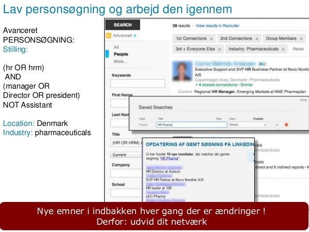 Side 10 Mærk dine kontakter og angiv noter Hold styr på relationer og kontakter med LinkedIn Tags