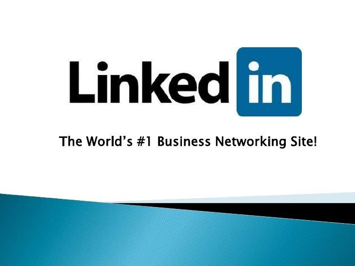The World's #1 Business Networking Site!<br />