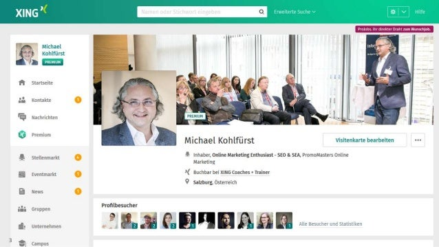 Be A King Queen Bei Xing Linkedin