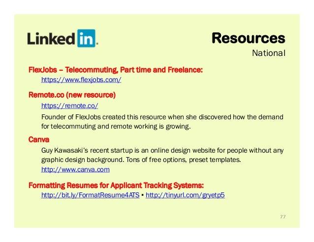 Rev Up! Your LinkedIn Profile