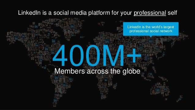 LinkedIn 101: Create a Profile and Learn the Basics! Slide 2
