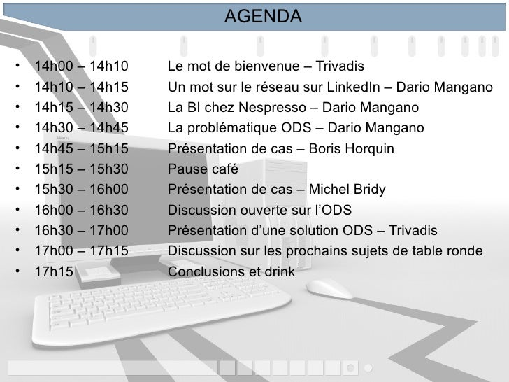 Linked In 1ere Table Ronde 20110330