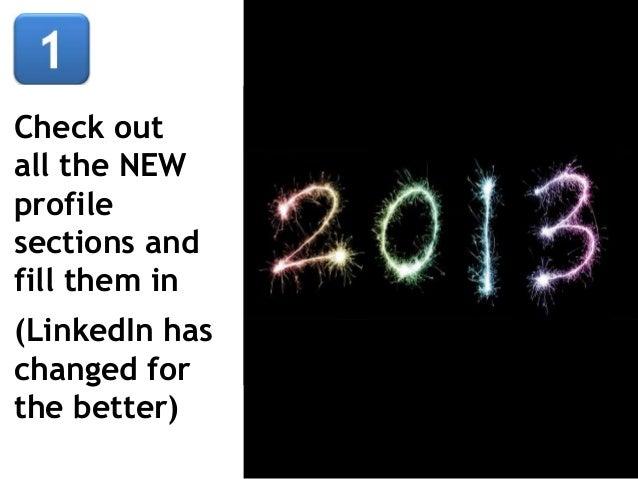 LinkedIn 20 Top Tips & Tricks Slide 2