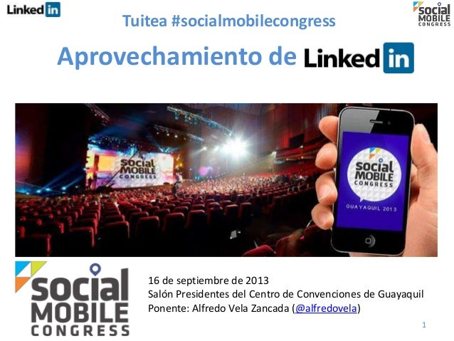 Aprovechamiento de 1 16 de septiembre de 2013 Salón Presidentes del Centro de Convenciones de Guayaquil Ponente: Alfredo V...