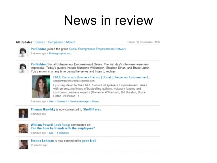 News in review