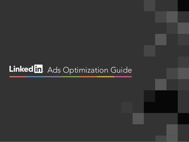 Ads Optimization Guide