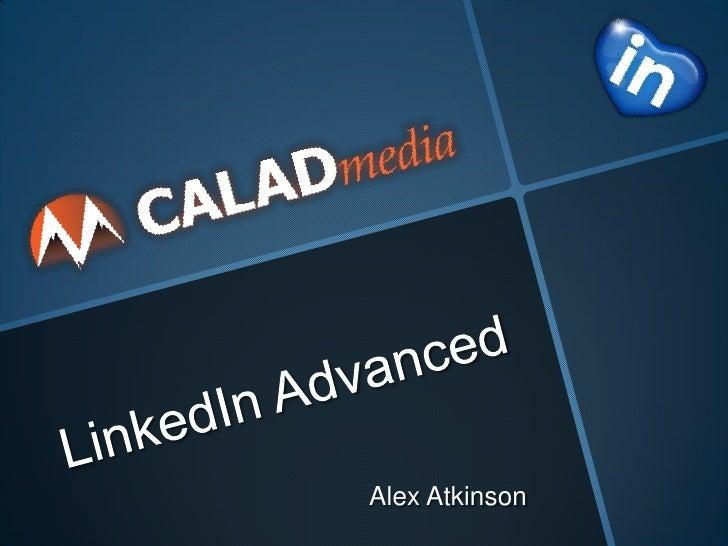 Alex Atkinson