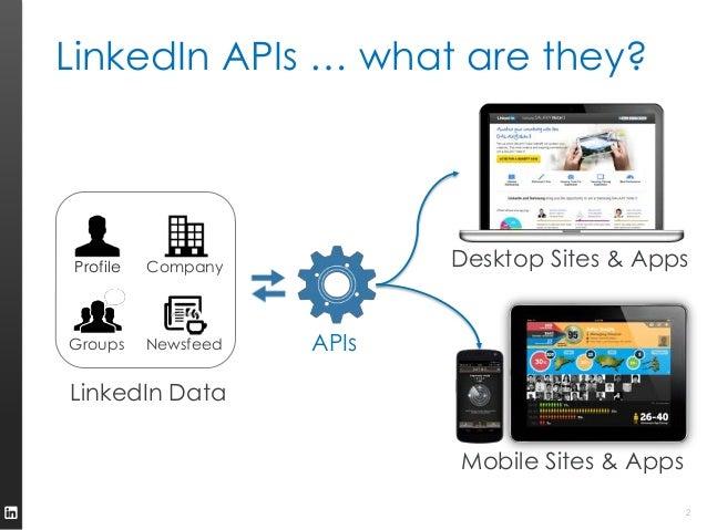 LinkedIn API Possibilities Slide 2