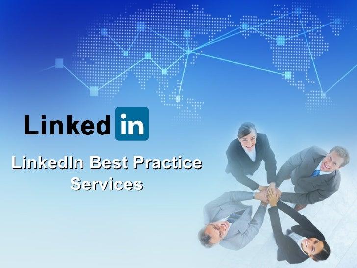 LinkedIn Best Practice Services