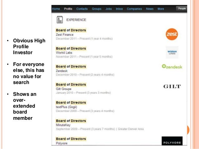 """FINDING YOU: """"BOARD MEMBER"""" SEARCH"""