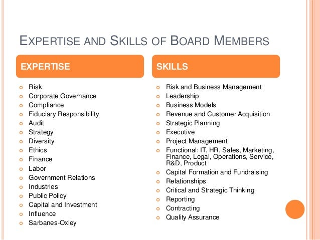 BOARD PROFILE CHECKLIST Professional Image Headline that Highlights Your Expertise Experience including current and pas...