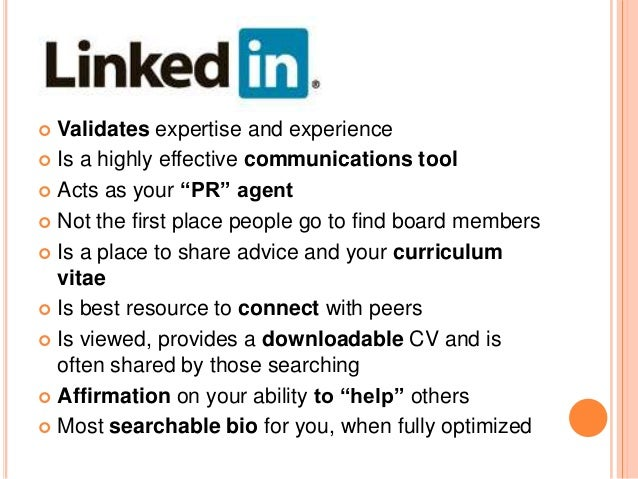 LINKEDIN MUSTS Photo – Professional Headshot Only Valid Email and Updated Contact Information Vanity URL Robust Summar...