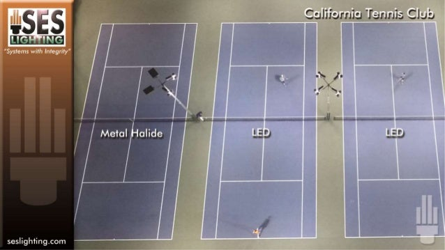 California Tennis Tennis Lighting Project