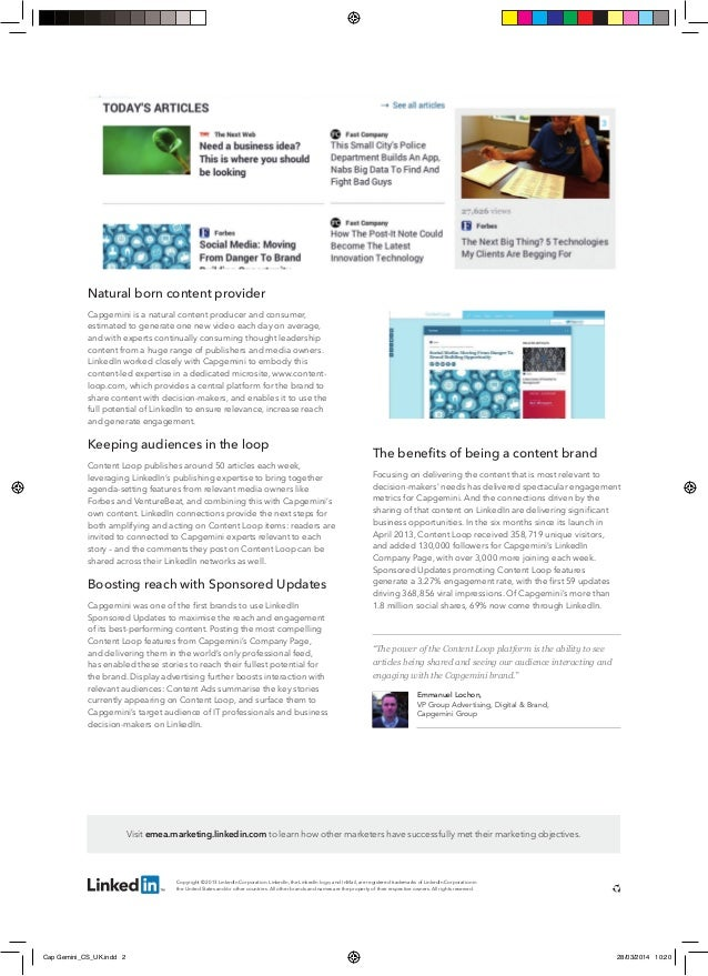 4 LinkedIn Marketing Case Studies to Emulate