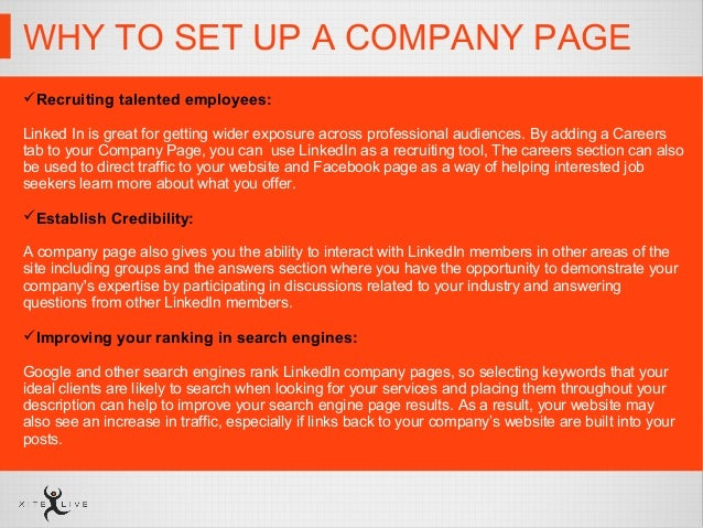 linkedin how to set up business page