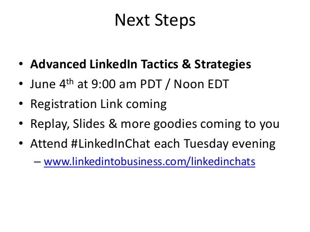 LinkedIn Contacts Presentation with Viveka von Rosen and Miles Austin