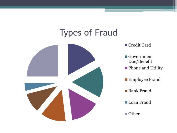 11 Types Of Credit Card Fraud