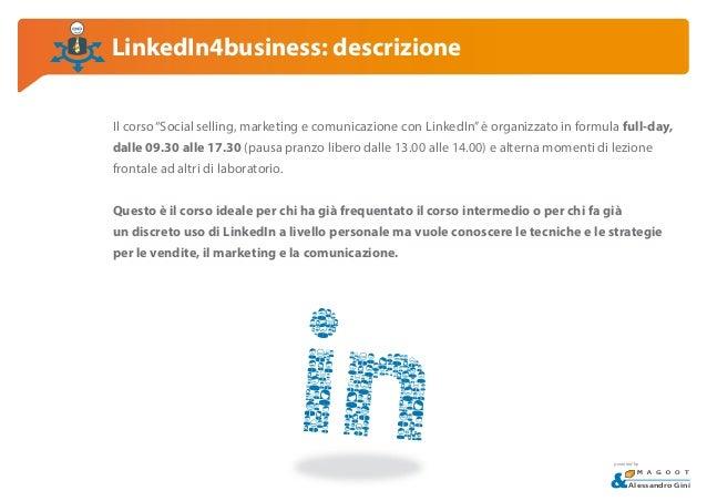 LinkedIn corso avanzato - Social Selling, Marketing e Comunicazione.pdf Slide 3