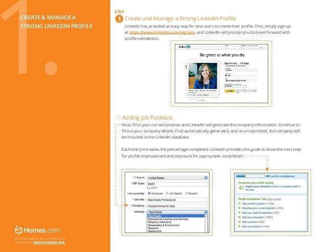 Create & manage a strong linkedin profile  Create and Manage a Strong LinkedIn Profile  LinkedIn has provided an easy w...