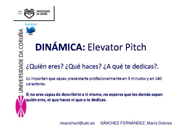 Linkedin curso verano 2014 maria_sanchez Orientate y planifica tu futuro Slide 3