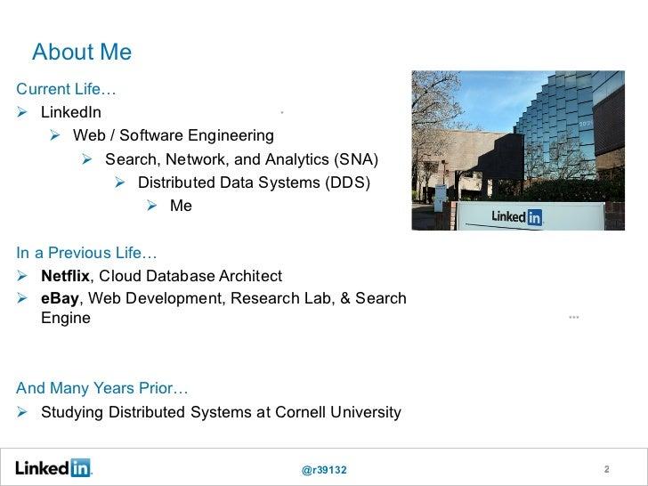 LinkedIn Data Infrastructure (QCon London 2012) Slide 2