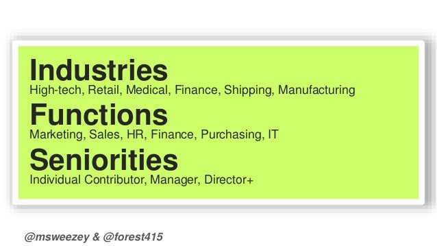 Industries  High-tech, Retail, Medical, Finance, Shipping, Manufacturing  Functions  Marketing, Sales, HR, Finance, Purcha...
