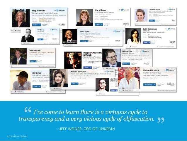 Linked in executive playbook 2016 Slide 2