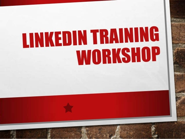 AGENDA • WHAT IS LINKEDIN • 2 REASONS TO USE LINKEDIN: FIND AND BE FOUND • CREATING & UPDATING YOUR PROFILE • ADDING CONTA...