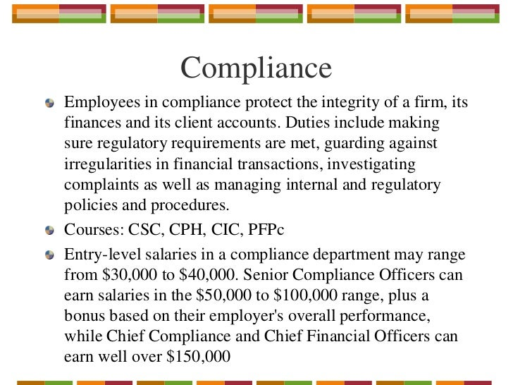Linkedin finding employment in the financial sector in canada - Compliance officer canada ...