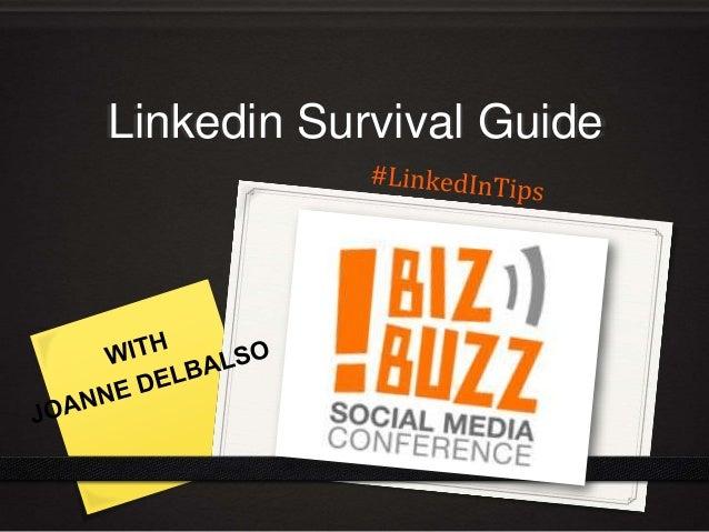 Linkedin Survival Guide