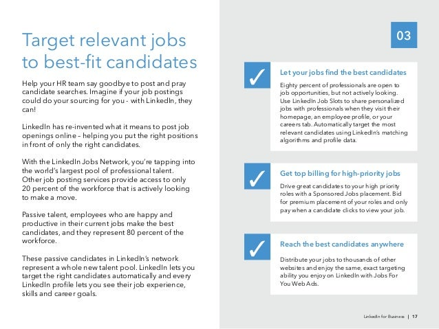 03to best-fit candidatesHelp your HR team say goodbye to post and praycandidate searches. Imagine if your job postingscould...